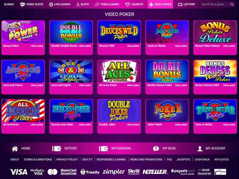 Felix Casino Software and Bonus Review