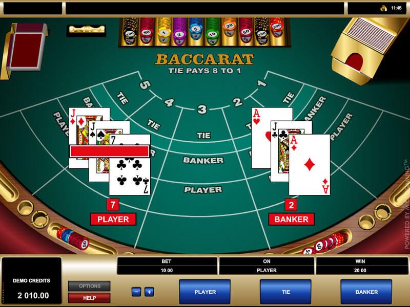 Baccarat Game Slot