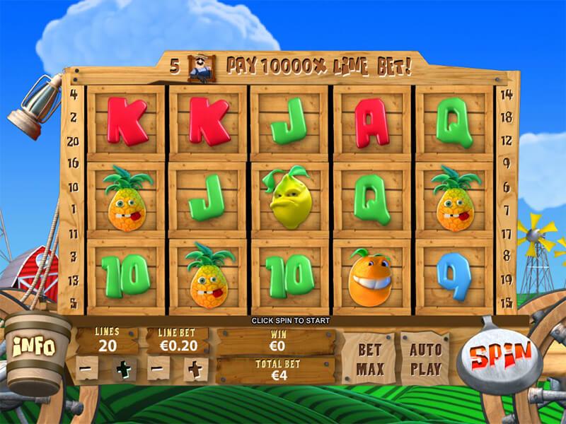 Funky Fruits Farm Slot