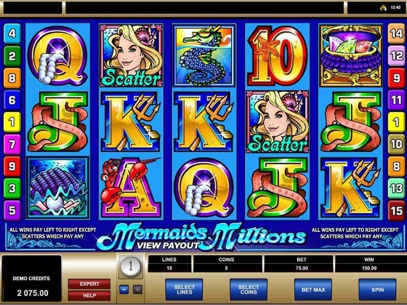Mermaids Millions Slot