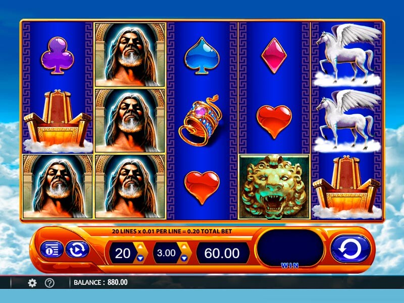 Kronos Slot Machine