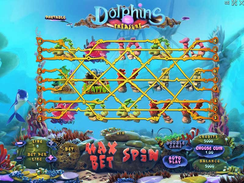 Dolphins Treasure Slot