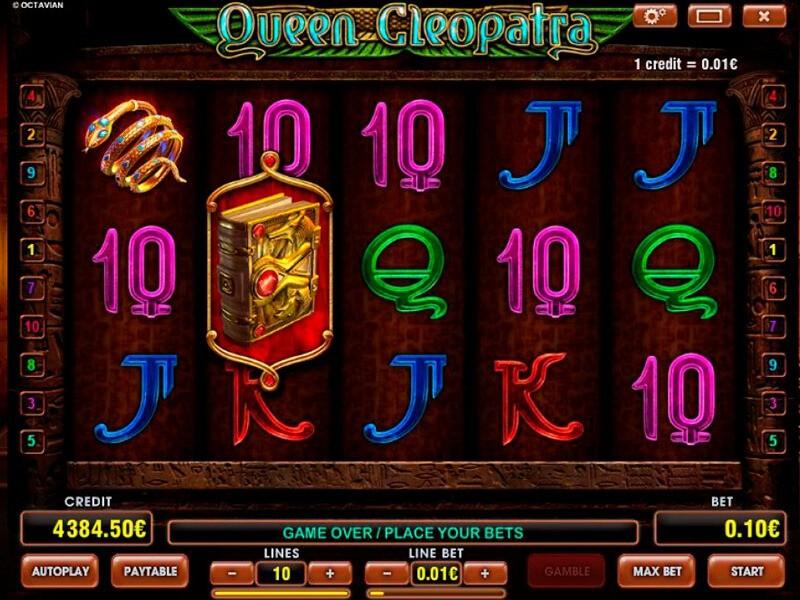 Cleopatra Queen Slot