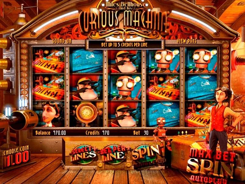 Curious Machine Slot