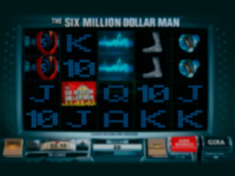 The Six Million Dollar Man Slot