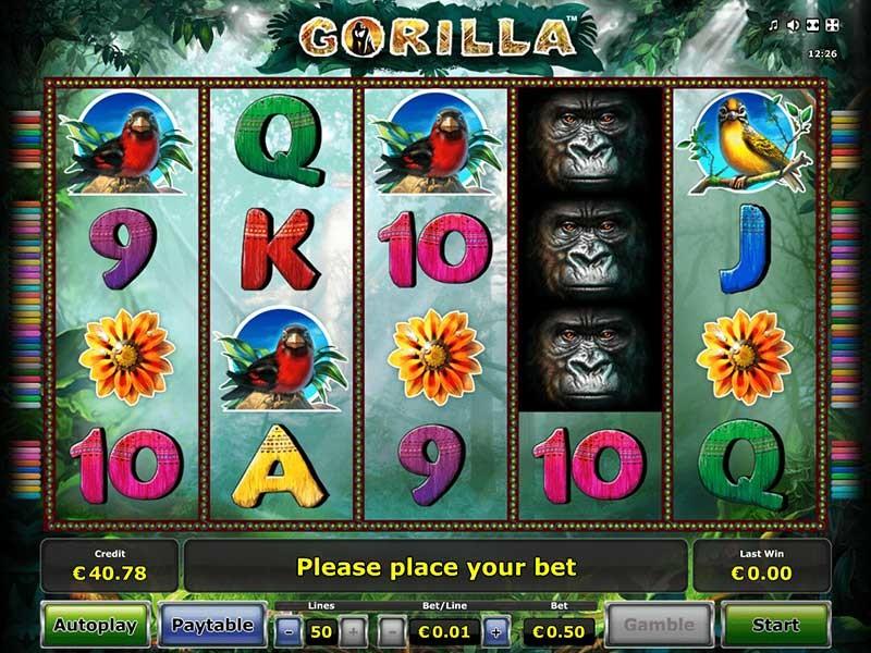 Gorilla Slot Machine